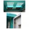"""Серверный шкаф 19"""" 47U RackPro EA6A47 (600х1000x2000), перф, модерн, вентиляторы/розетки в комплекте"""