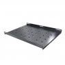 """Полка 19"""" RP-650 глубина 650мм, 1U, для стойки/шкафа глубиной 800-1000мм, черная, RackPro"""