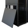 """Серверный шкаф 19"""" 38U RackPro SE6138 (600х1000х38U) (блок вентил.), перф. двери, черный"""