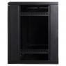 """Серверный шкаф 19"""" 12U AW6312 (600x350x635мм), настенный, 1 секция, стекл. дверь, черный, RackPro"""