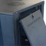 """Серверный шкаф 19""""  6U AW6406 (600x450x368мм), настенный, 1 секция, стекл. дверь, черный, RackPro"""